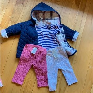 Baby GAP and First Impressions jacket set